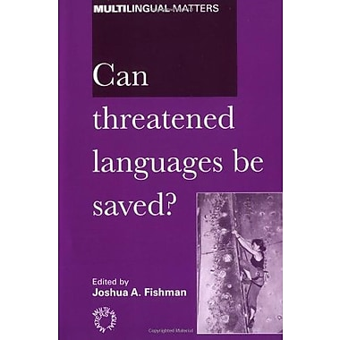 Can Threatened Languages Be Saved?, Used Book (9781853594922)