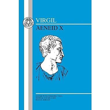 Virgil: Aeneid X (Latin Texts) (Bk. 10), New Book (9781853990458)