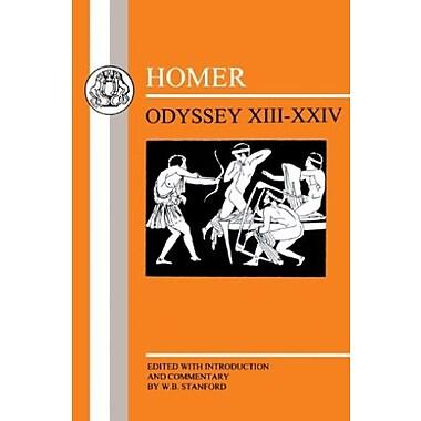Homer: Odyssey:XIII-XXIV (Bks. 13-24), New Book (9781853995125)