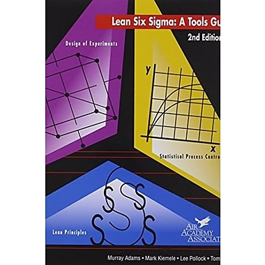 Lean Six Sigma: A Tools Guide, Used Book (9781880156070)