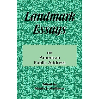 Landmark Essays on American Public Address: Volume 1 (Landmark Essays Series)