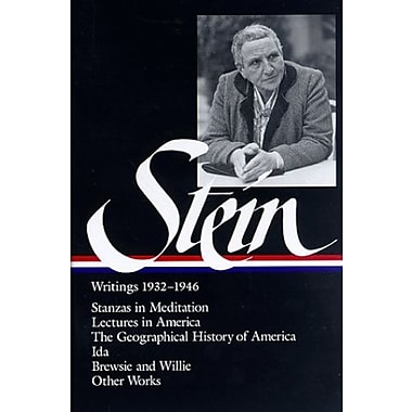 Stein: Writings 1932-1946, Vol. 2 (Library of America), New Book (9781883011413)