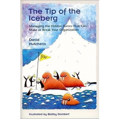 The Tip of the Iceberg: Managing the Hidden Forces That Can Make or Break Your Organization, New Book (9781883823511)