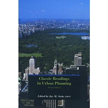 Classic Readings in Urban Planning, New Book (9781884829901)