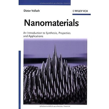 Nanomaterials: An Introduction to Synthesis, Properties and Applications, New Book (9783527315314)
