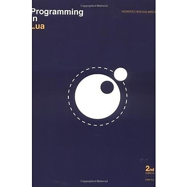 Programming in Lua, Second Edition, Used Book (9788590379829)