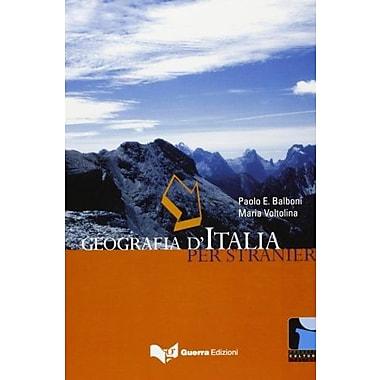 Progetto Cultura Italiana: Geografia D'Italia Per Stranieri (Italian Edition), New Book (9788877157683)