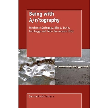 Being with A/R/Tography, New Book (9789087902629)