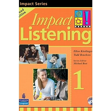 Impact Listening 1 Student Book with Self-Study, 2nd Edition, Used Book (9789620058011)