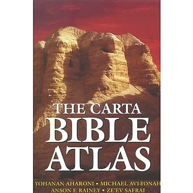 Carta Bible Atlas, New Book (9789652204875)