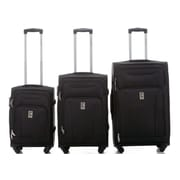 Champs Travelers Collection 3-Piece Hardside Spinner Sets