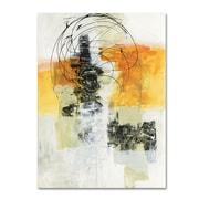 """Trademark Fine Art WAP0110-C1419GG """"Action II"""" by Jane Davies 14"""" x 19"""" Frameless Art"""