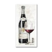 "Trademark Fine Art WAP0094-C2447GG ""Pencil Wine I"" by Avery Tillmon 47"" x 24"" Frameless Art"