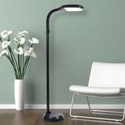 Lavish Home 72-1515 LED Sunlight Floor Lamp, Black