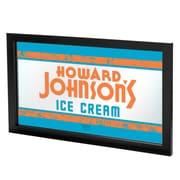 """Trademark Global Howard Johnson AR1500-HOJO-V2 15"""" x 27"""" Framed Logo Mirror, Philadelphia Bell"""