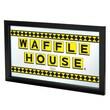 """Waffle House AR1500-WAFF-C2 15"""" x 27"""" Framed Logo Mirror, Charlotte Hornets"""