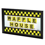 "Waffle House AR1500-WAFF-C 15"" x 27"" Framed Logo Mirror, Detroit Panthers"