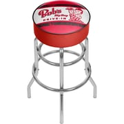 Trademark Global Bobs Big Boy AR1000-BOB-V Steel Padded Swivel Bar Stool, Vintage