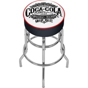 Trademark Global Coca Cola Brazil COKE-1000-BZ Steel Pub Stool