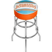 Trademark Global Howard Johnson AR1000-HOJO-V Padded Swivel Bar Stool, Vintage