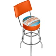 Trademark Global Howard Johnson 41.75'' Modern Swiveling Base Padded Bar Stool, Vintage (886511587779)