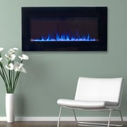 Northwest 80-2000A LED Fire and Ice Electric Fireplace with Remote, Assorted Sizes