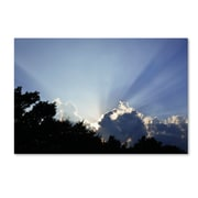 "Trademark Fine Art KS0167-C2232GG ""Inspirational Sky"" by Kurt Shaffer 22"" x 32"" Frameless Art"