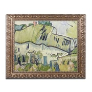"Trademark Fine Art BL0900-G1620F ""The Farm in Summer"" by Vincent van Gogh 16"" x 20"" Framed Art"