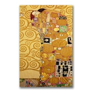 "Trademark Fine Art BL0401-C2432GG ""Fulfillment"" by Gustav Klimt 32"" x 24"" Frameless Art"