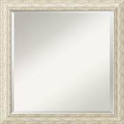 "Amanti Art Cape Cod DSW1290255 Wall Mirror 23.5"" H x 23.5"" W, White"