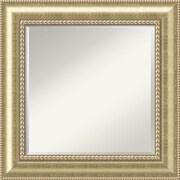 Amanti Art Astoria DSW1290258 Wall Mirror 26.75 x 26.75W,Beige