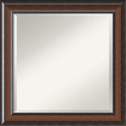 Amanti Art Cyprus DSW1346411 Wall Mirror 24.75H x 24.75W, Brown