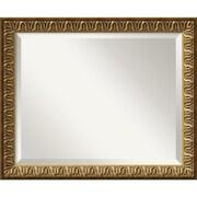 "Amanti Art Solare DSW1346415 Wall Mirror 18.88""H x 22.88""W, Gold"