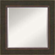 """Amanti Art Milano DSW1346417 Wall Mirror 26.50""""H x 26.50""""W, Bronze"""