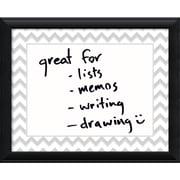 Amanti Art Chevron Message Dry-Erase Board