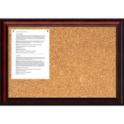 "Amanti Art Rubino 19"" x 27"" Message Cork Boards"