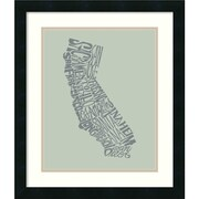 Amanti Art 'California II' Framed Art Print