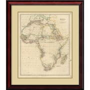Amanti Art 'Africa, 1834' Framed Art Print