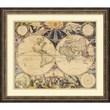 Amanti Art 'New World Map, 1676' Framed Art Print