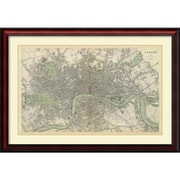 Amanti Art 'London, England, 1843' Framed Art Print