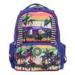 Nicole Lee Series IV Crinkle Nylon 18'' Laptop Backpack