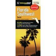 Universal Map Florida Southwest Tourist Waterproof Map