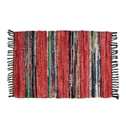 Ess Ess Exports Broadway Handmade Red Area Rug; 5' x 8'