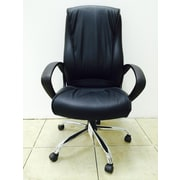 Winport Industries High-Back Pleated Swivel Office Chair