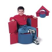 Benee's Flip Top Kids Novelty Chair; Pastel