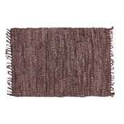 Ess Ess Exports Rodeo Handmade Brown Area Rug; 5' x 8'