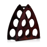 Furinno Pyramid 6 Bottle Tabletop Wine Rack