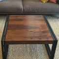 Timbergirl Coffee Table; 16''H x 35''W x 35''D
