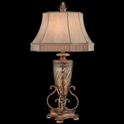 Fine Art Lamps Pastiche 40'' H Table Lamp w/ Bell Shade