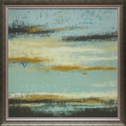 North American Art 'Ocean View' by Rita Vindedzis Framed Painting Print